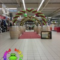 decoration de magasin en ballons
